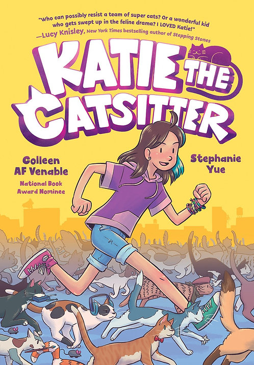 Katie the Catsitter by Colleen AF Venable, Stephanie Yue