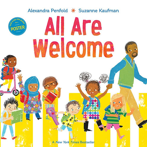 All Are Welcome by Alexandra Penfold, Suzanne Kaufman