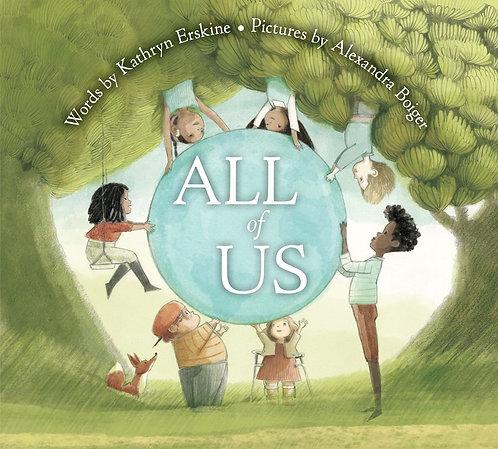 All of Us by Kathryn Erskine, Alexandra Boiger