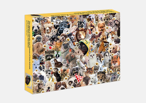 This Jigsaw is Literally Just Pictures of Cute Animals — 500 Piece Jigsaw Puzzle