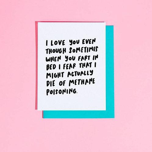 Methane Poisoning Card by Craft Boner
