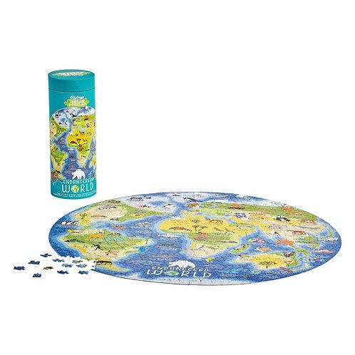 Endangered World 1000 Piece Jigsaw Puzzle