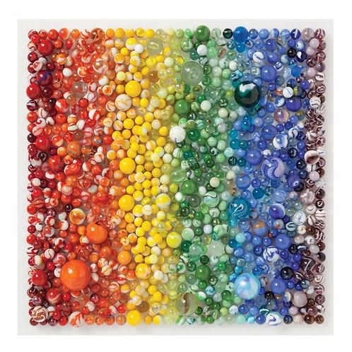Rainbow Marbles 500 Piece Puzzle
