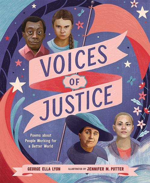 Voices of Justice by George Ella Lyon, Jennifer M. Potter