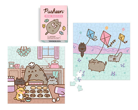 Pusheen Mini Puzzles by Claire Belton