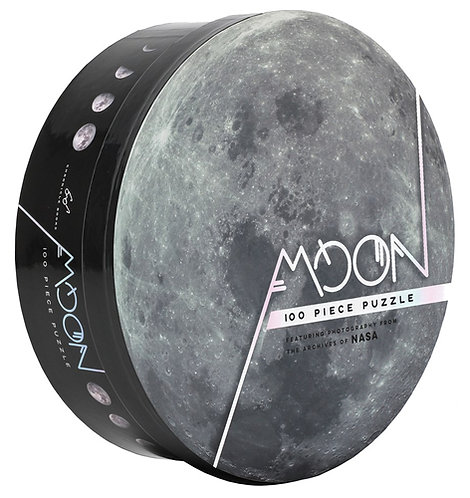 100 Piece Moon Puzzle: Featuring Photography from the Archives of NASA