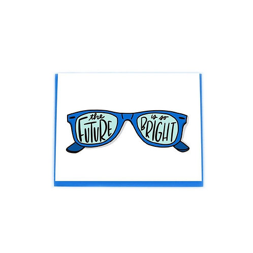 Future SO Bright Card by Paisley Paper Co.