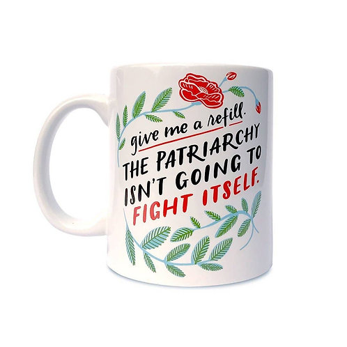 Patriarchy Refill Mug by Emily McDowell & Friends