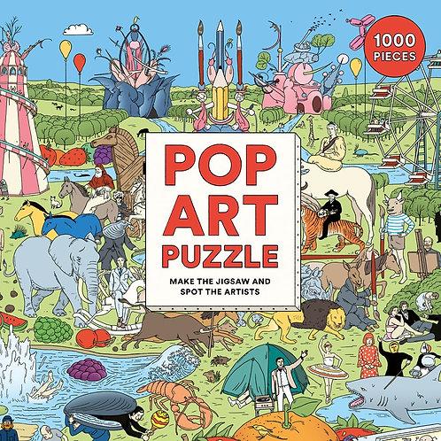Pop Art Puzzle (1000 Pieces)