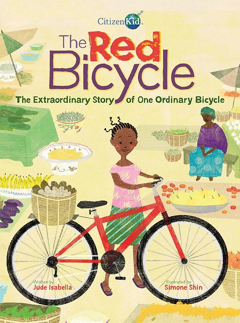 The Red Bicycle by Jude Isabella, Simone Shin