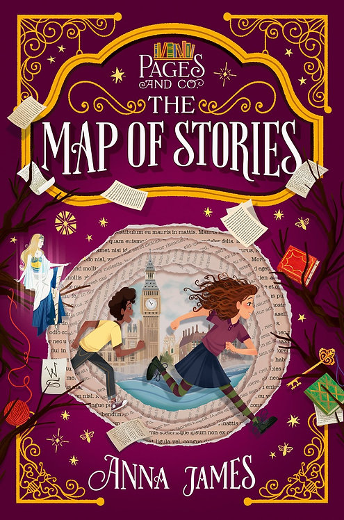 Pages & Co.: The Map of Stories by Anna James, Paola Escobar