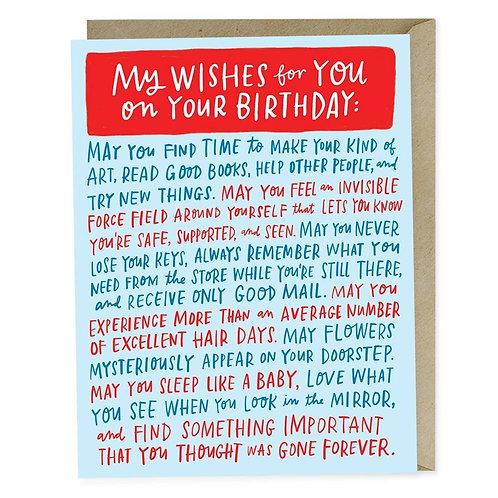 Birthday Dedication Card by Emily McDowell & Friends