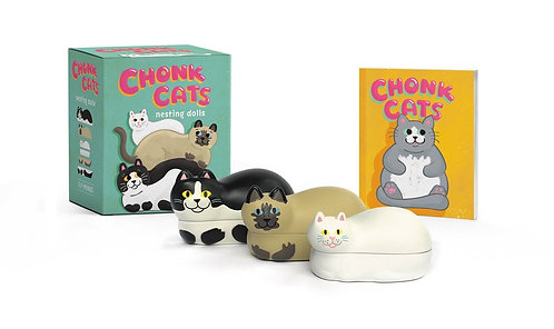 Chonk Cats Nesting Dolls by Jessica Oleson Moore