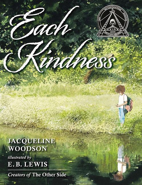 Each Kindness by Jacqueline Woodson, E. B. Lewis