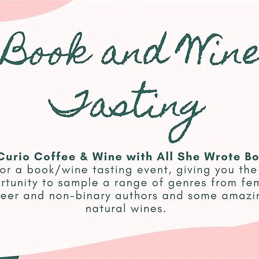 Book and Wine Tasting
