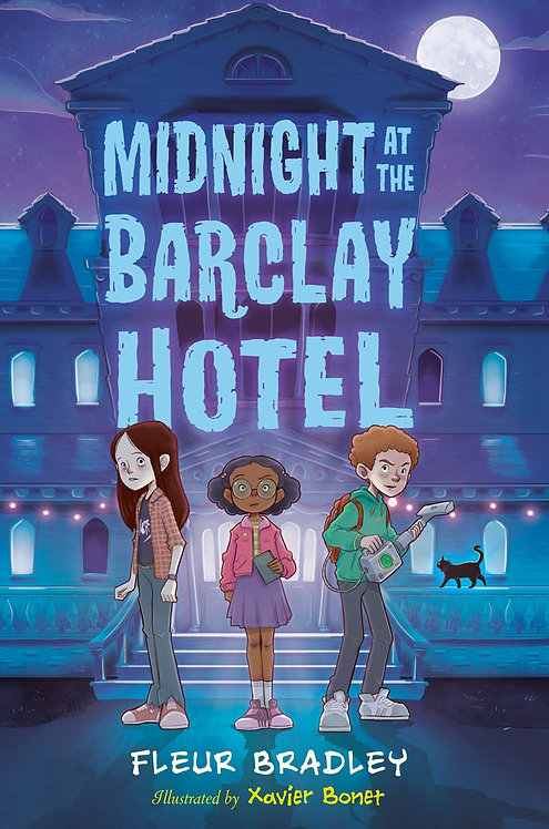 Midnight at the Barclay Hotel by Fleur Bradley, Xavier Bonet