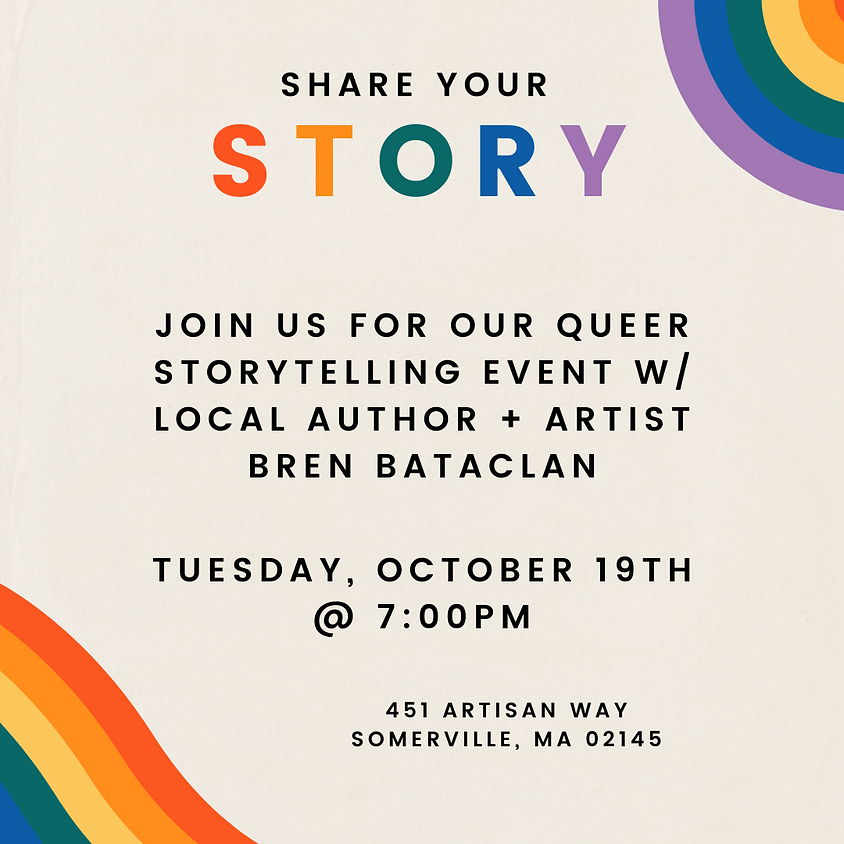 Queer Storytelling Event