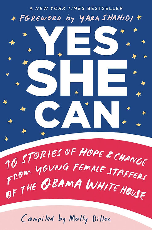 Yes She Can By Molly Dillon