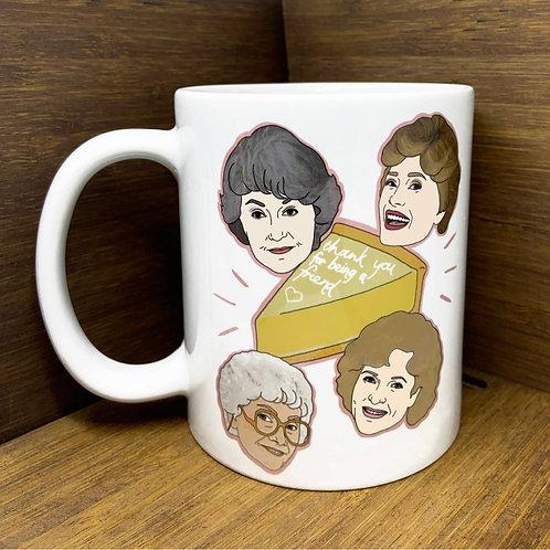 Golden Girls Mug by Citizen Ruth