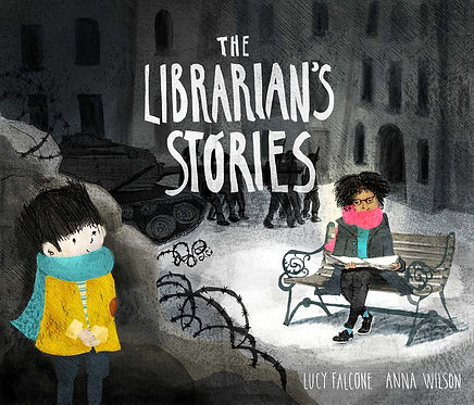 The Librarian's Stories by Lucy Falcone, Anna Wilson