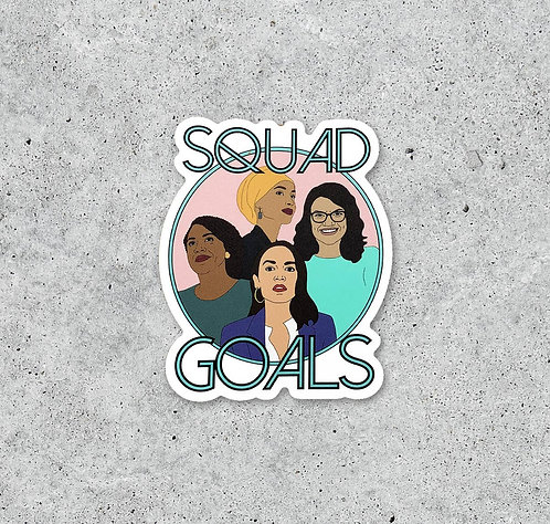 Squad Goals Sticker by Citizen Ruth