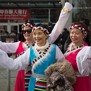 Chinese New Year Parade - Girls Can Fly 2