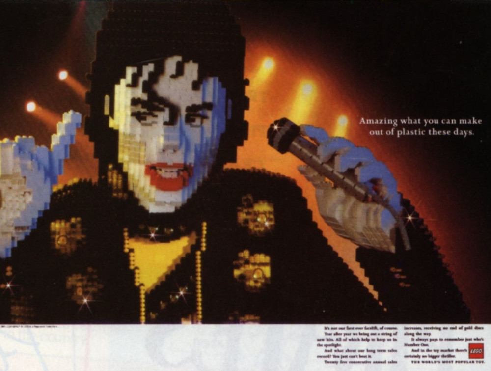 The LEGO Michael Jackson ad, as it was originally proposed in 1989.