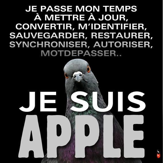 Je suis Apple