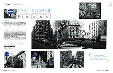 Carte Blanche Bruno Ducourant