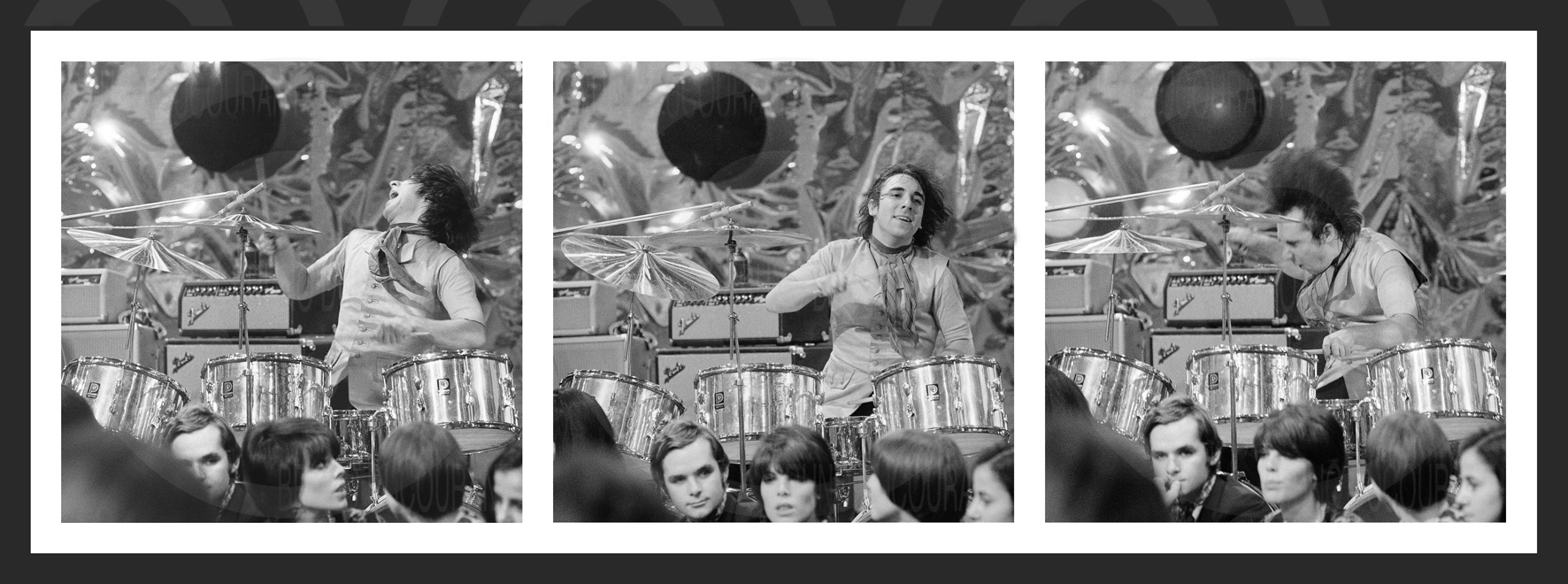 THREE BY ONE • Keith Moon 6037
