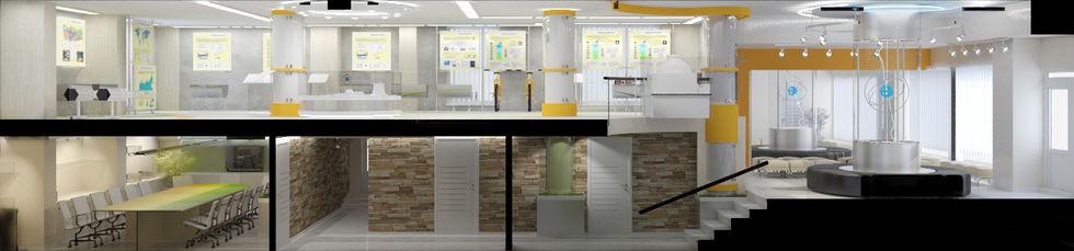 Дизайн музея атомной станции