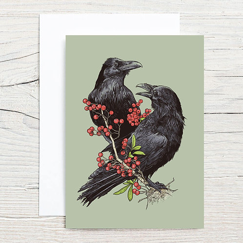 Ravens 5x7 Notecard Set (8)
