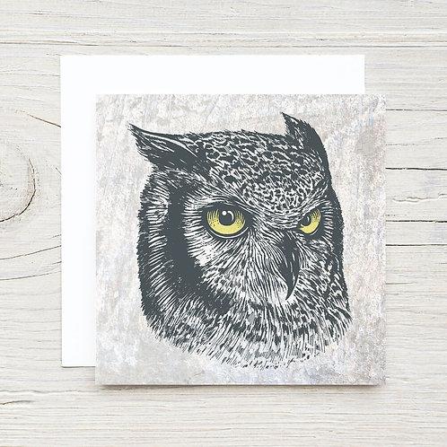 Owl Portrait Card Set (10)