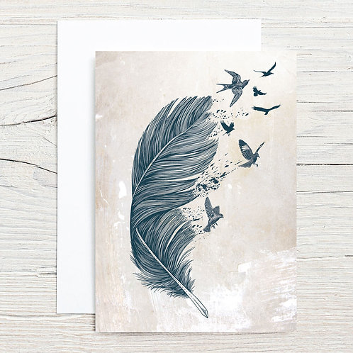 Fly Away 5x7 Notecard Set (8)