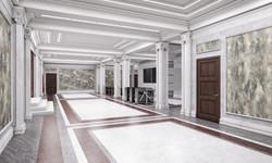 Фойе административного здания