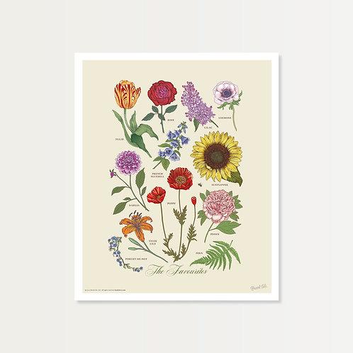 The Favourites Art Print 14x17