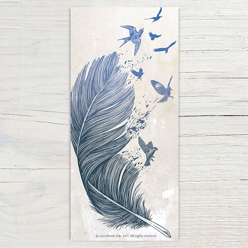 Fly Away Bookmark