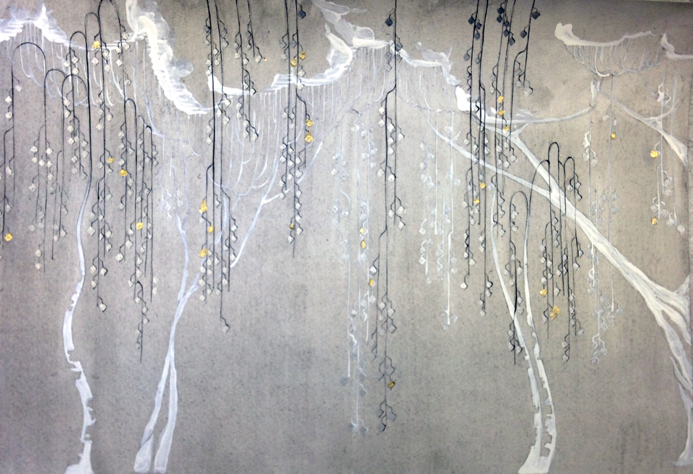 Эскиз росписи стен