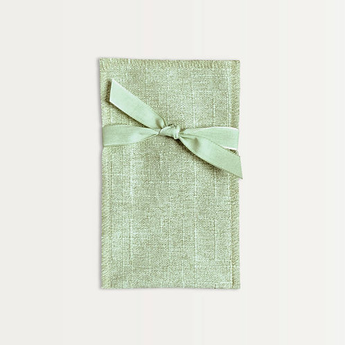 Silverware Pouch Set in Green (6)