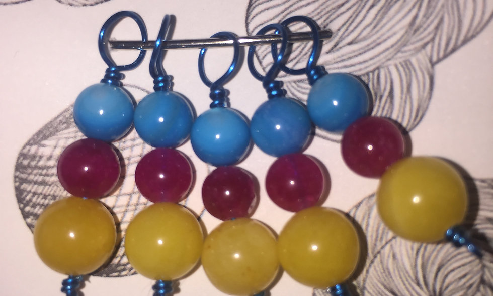 5-pack Stitch Markers