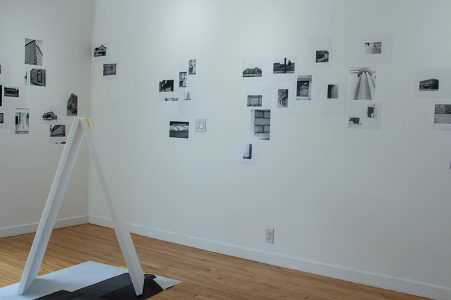 Ordinary Buildings, Installation view.