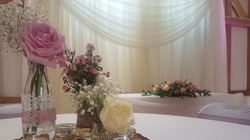 Wedding Backdrop and Top Table Drape