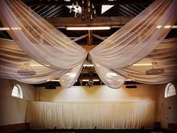 Barn Wedding Ceiling Decoration