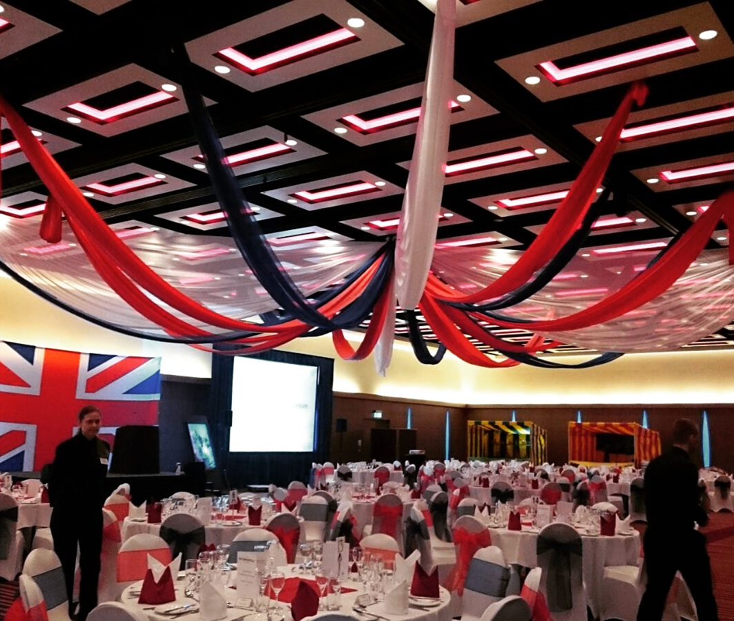 Best of British Event Decoration