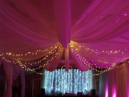 Wedding Fairy Lights and Uplights