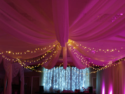 Wedding Fairy Lights and Uplights
