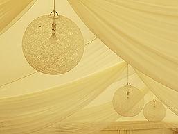 Wedding Marquee Ceiling Decoration