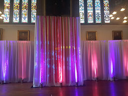 Wedding Ribbon Backdrop