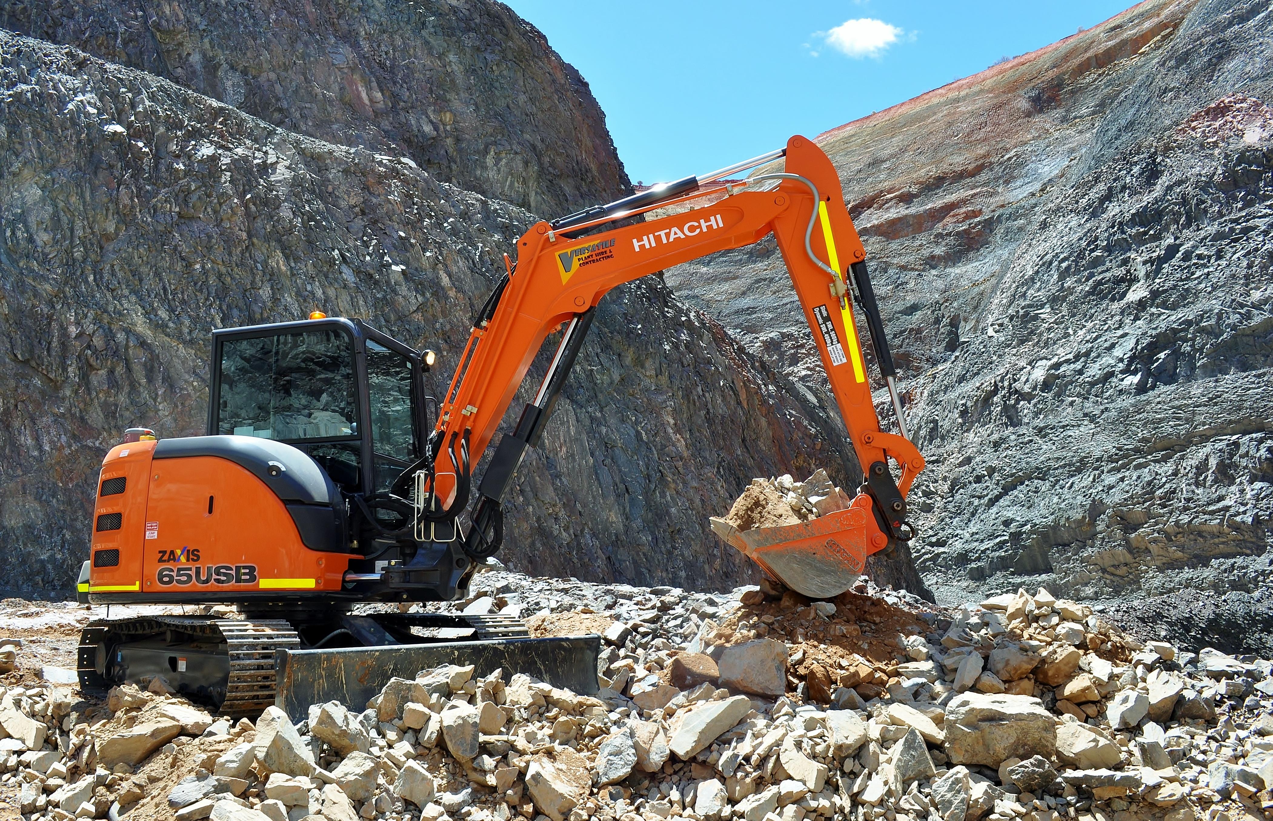Hitachi 65USB excavator