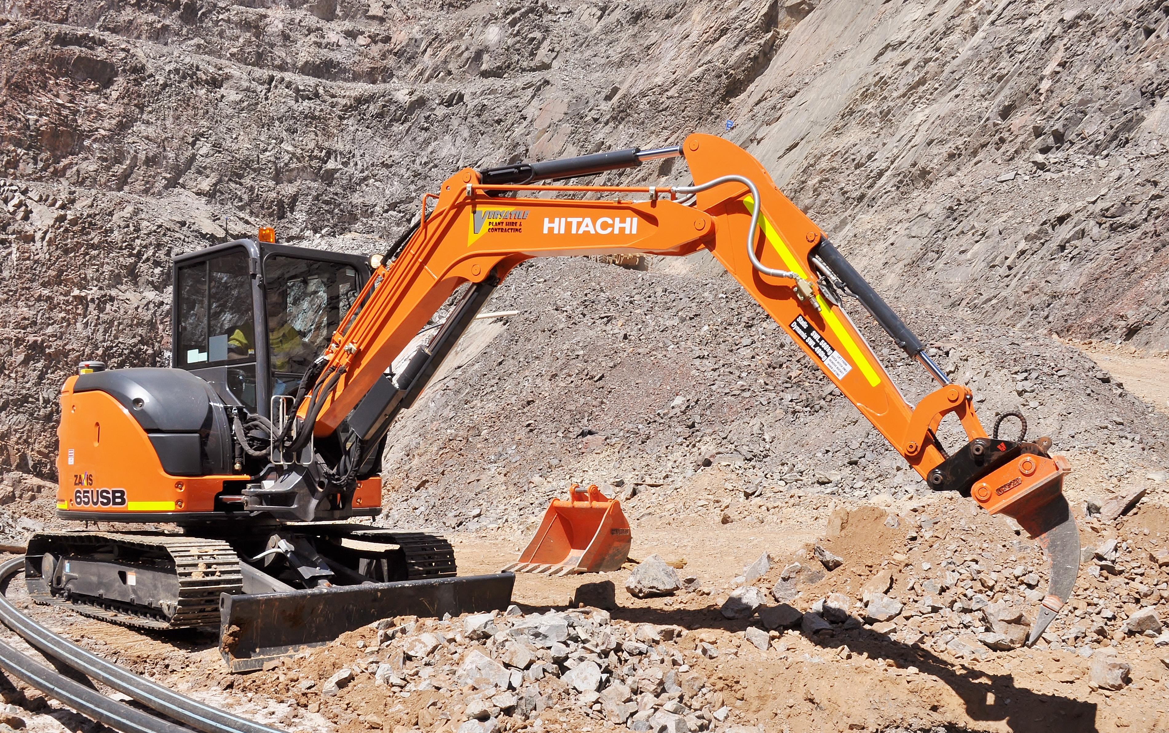 Excavator ripper